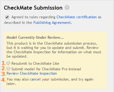 CheckMate Failure Process