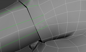 why should I extend the edges with T-vertices