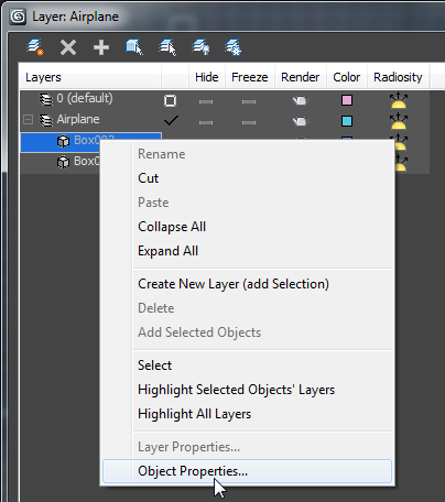 how to create new Layers in 3ds Max