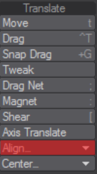 Resetting Transforms in LightWave