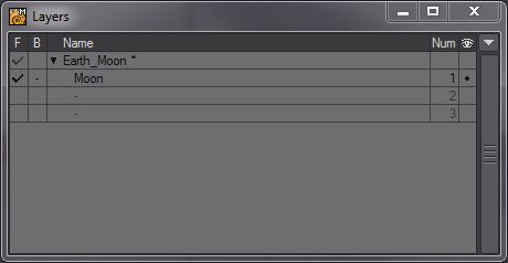 how to create Layers in LightWave