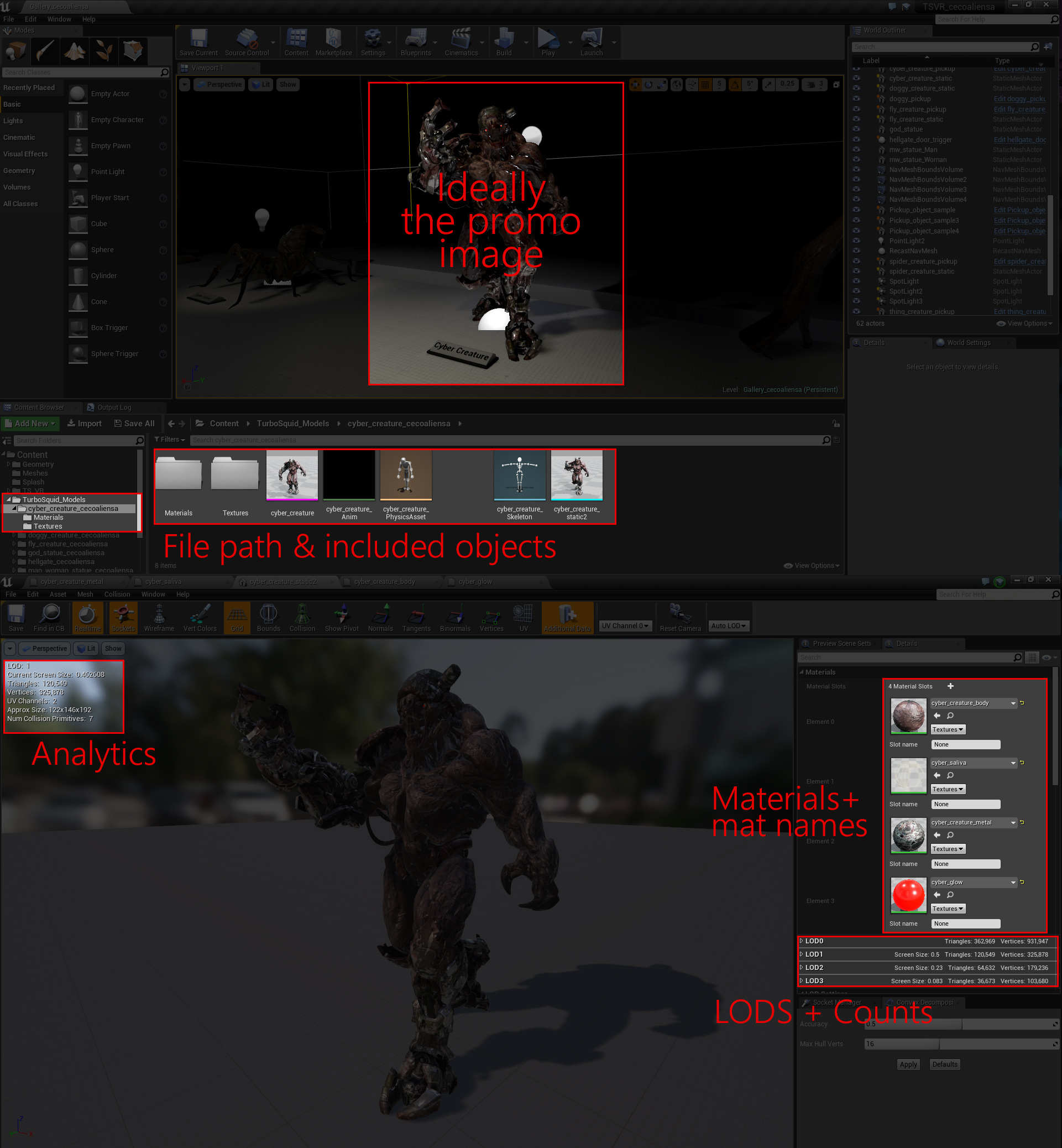 Buying 3d models for Unreal