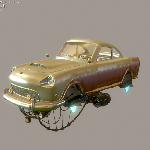 Marmoset Viewport with RGB: 128,128,128 background